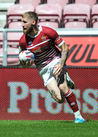 Wigan Warriors v Widnes Vikings