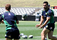 Australian Kangaroos Training session